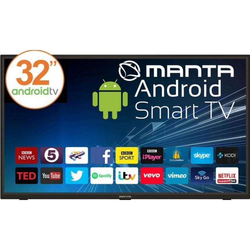 Manta 32'' LED TV 32LHA29E TV Smart, DVB-C/T2/S2