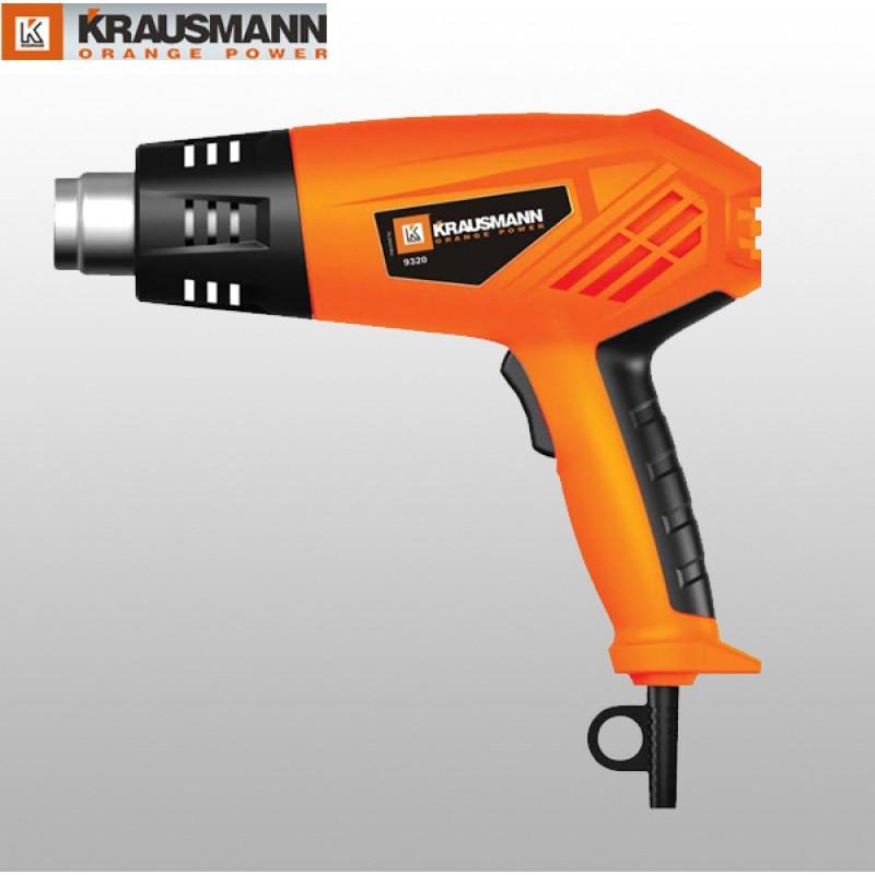 Krausmann 9320  Πιστόλι Θερμού Αέρα 2000W