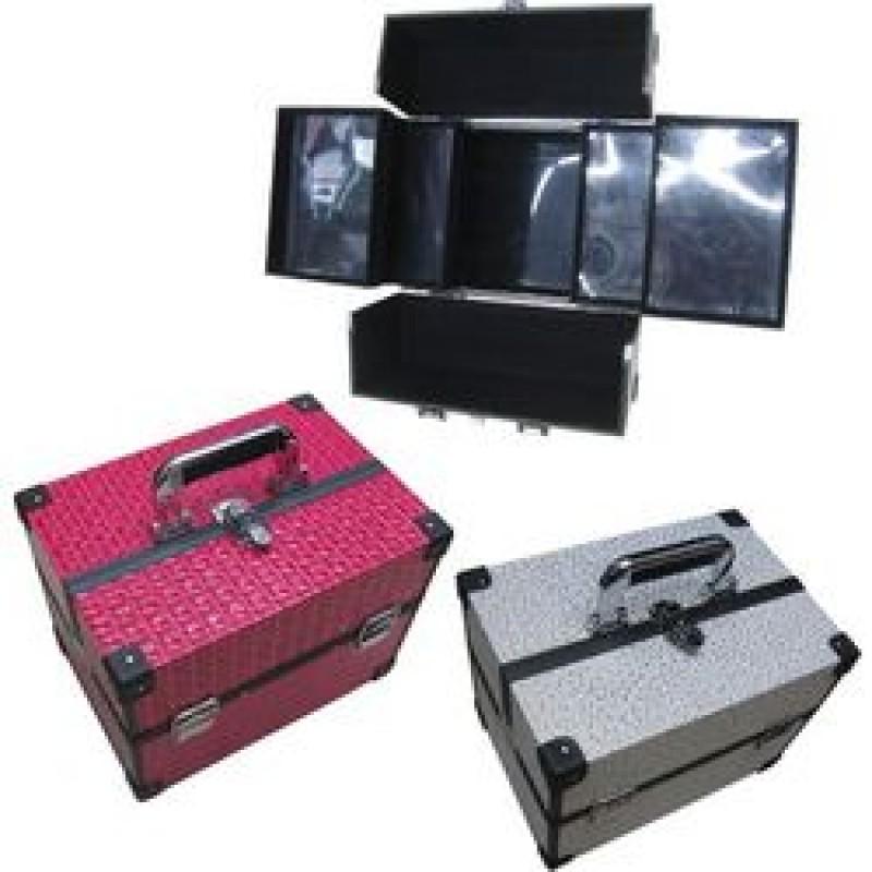 182afafa1b OEM Βαλίτσα Μακιγιάζ 40501719 - Βαλίτσα Μανικιούρ Λευκό με Χρυσά Σχέδια