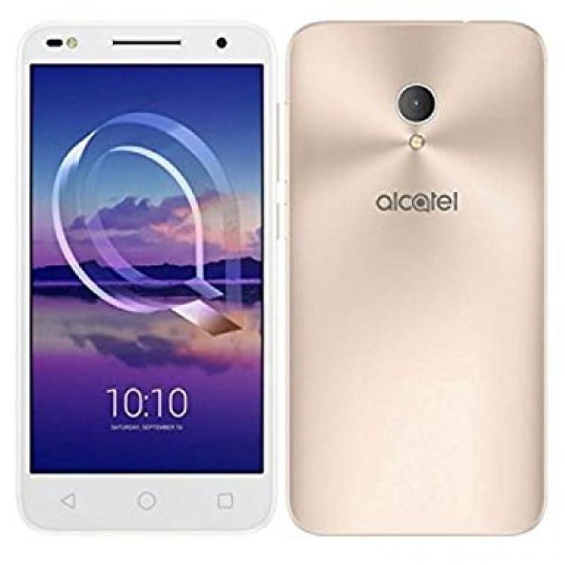 Alcatel U5 HD Premium 4G, 5047U 2GB RAM/ 16GB ROM, Dual Sim Android Smartphone White/Gold