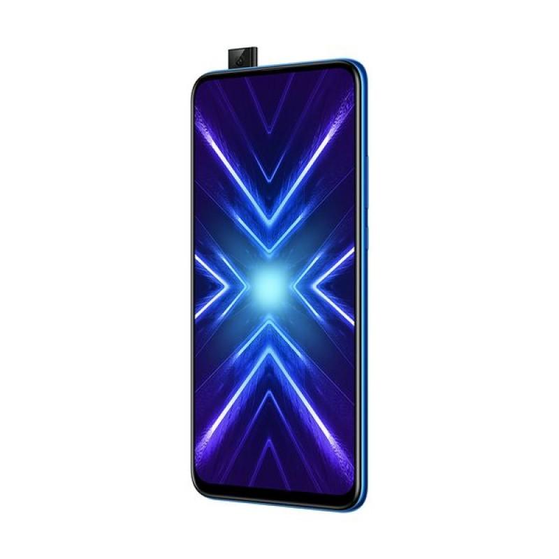 "Honor 9X Smartphone 6.59"" Dual Sim Octacore (4 GB/128 GB) Blue"